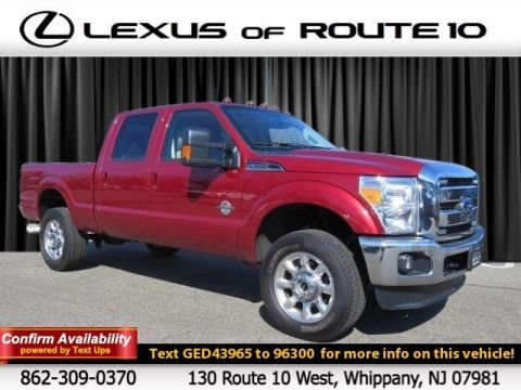 Pre-Owned 2016 Ford Super Duty F-350 SRW Lariat Four Wheel Drive Crew Cab Pickup