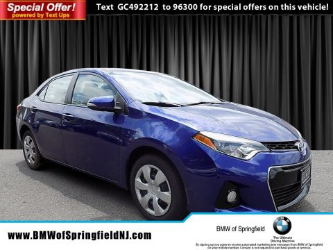 Pre-Owned 2016 Toyota Corolla S FWD 4dr Car