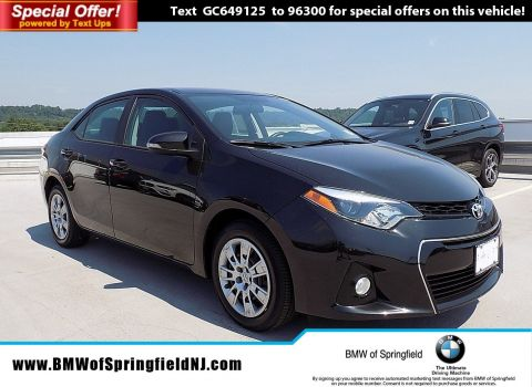 Pre-Owned 2016 Toyota Corolla S w/Special Edition Pkg FWD 4dr Car
