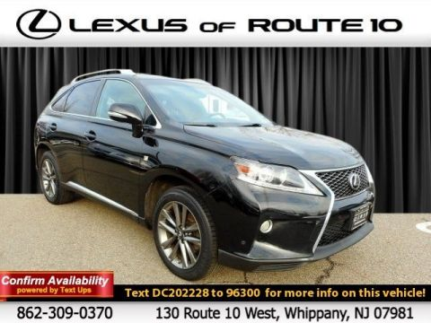 Pre-Owned 2013 Lexus RX 350 F Sport AWD