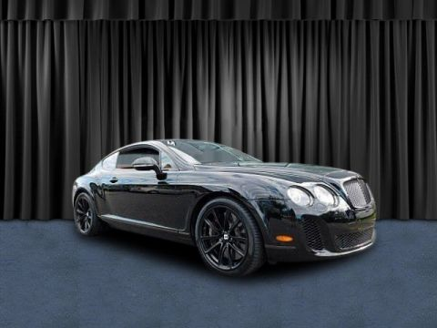Pre-Owned 2010 Bentley Continental Supersports Supersports AWD