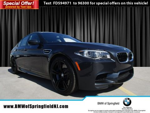 Pre-Owned 2015 BMW M5  RWD 4dr Car