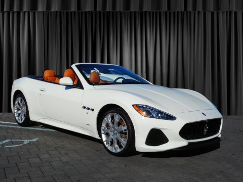 New 2018 Maserati GranTurismo Convertible Sport Rear Wheel Drive Convertible
