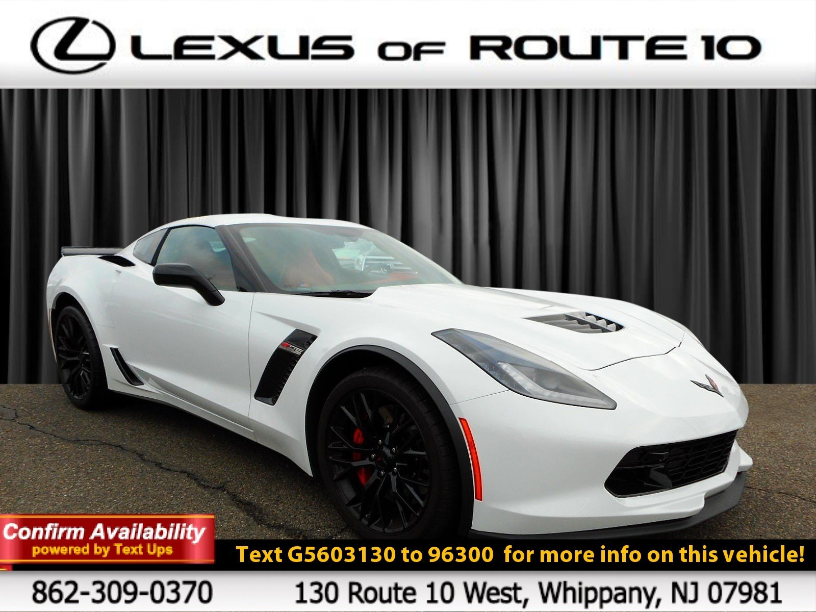 Pre-Owned 2016 Chevrolet Corvette Z06 2LZ