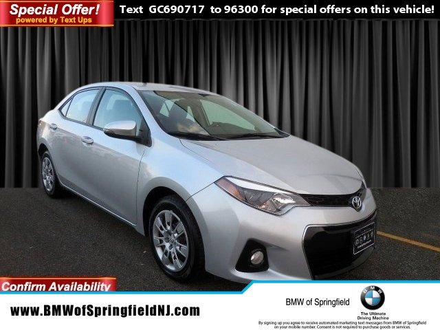 Pre-Owned 2016 Toyota Corolla S w/Special Edition Pkg