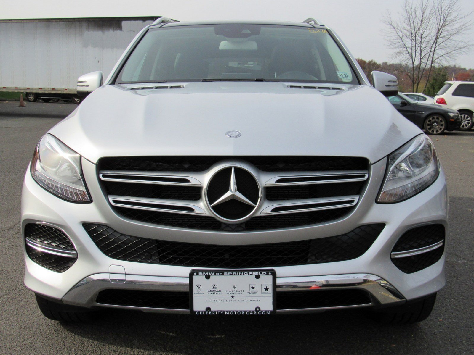 Pre Owned 2016 Mercedes Benz GLE GLE 350 Sport Utility in Whippany