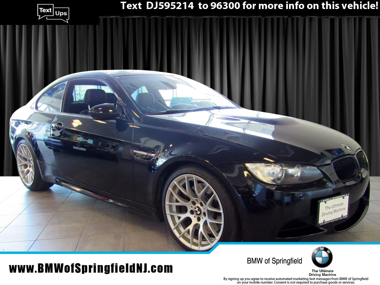 Pre-Owned 2013 BMW M3