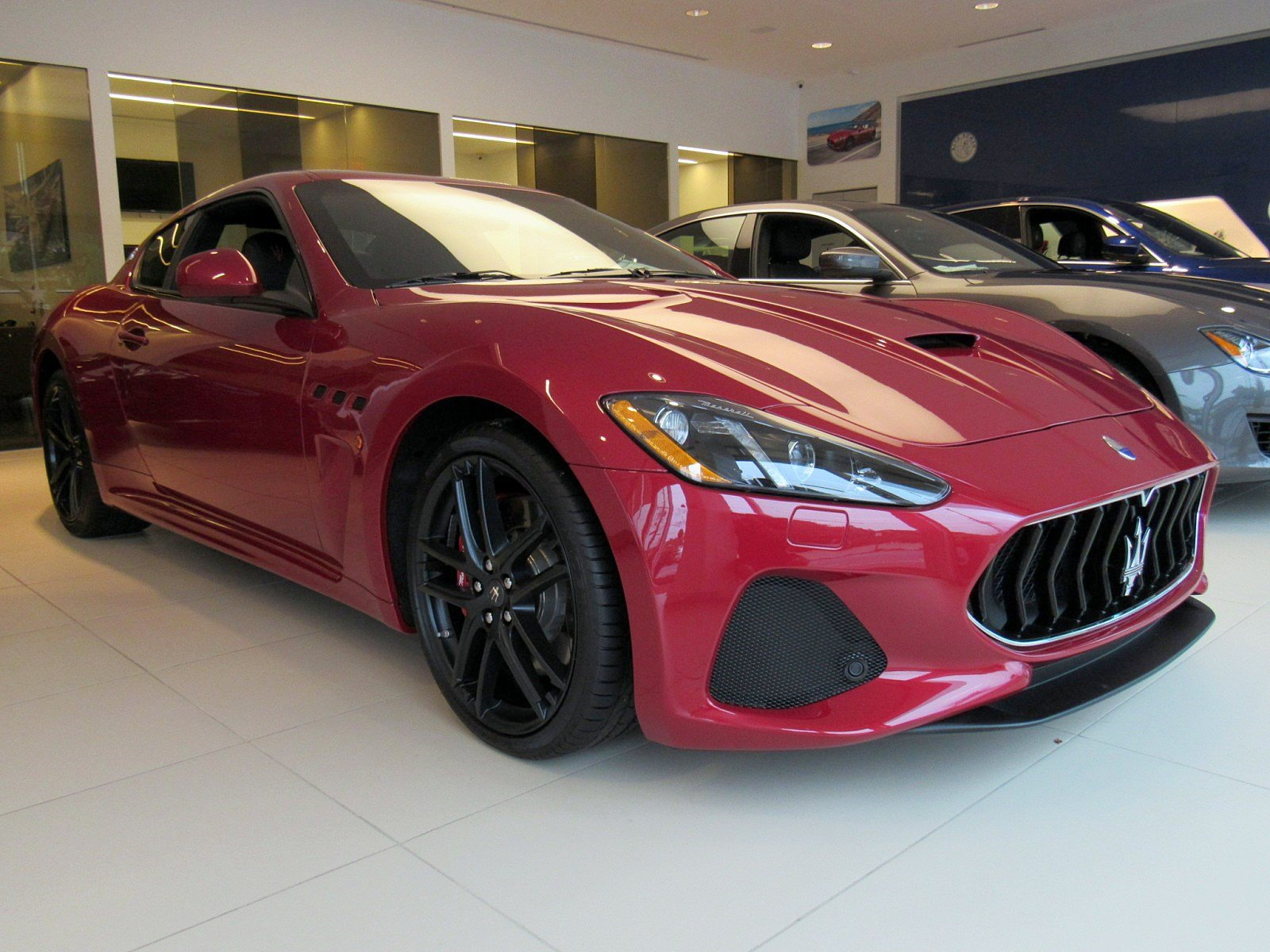 New 2018 Maserati GranTurismo MC With Navigation
